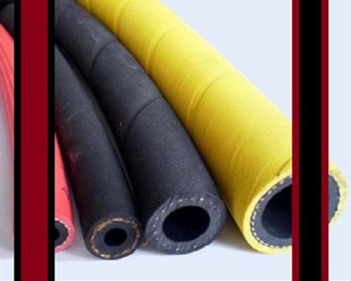 شیلنگ لاستیکی نخدار صنعتی